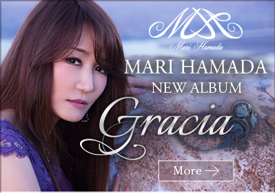MARI HAMADA NEW ALBUM Gracia